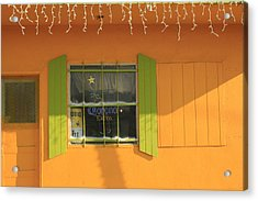 Yellow Window Acrylic Print