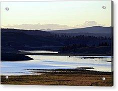 Yellowstone Landscapes Acrylic Print