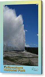 Yellowstone Np 005 Acrylic Print by Charles Fox