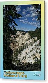 Yellowstone Np 007 Acrylic Print by Charles Fox
