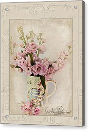 Yesterday's Letter  Acrylic Print by Sandra Rossouw