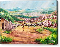 Yesteryears Acrylic Print by Uly Ogwah