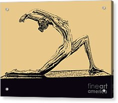 Yoga Number One Acrylic Print