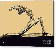 Yoga Number One Acrylic Print
