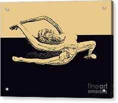 Yoga Number Two Acrylic Print