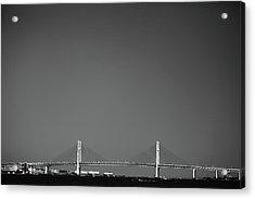 Yokohama Bay Bridge Acrylic Print by Kiyoshi Noguchi