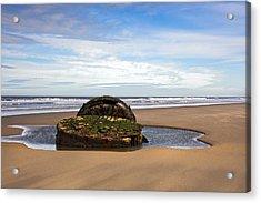 Yorkshire Coast Acrylic Print by Svetlana Sewell