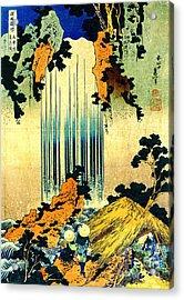 Yoro Waterfall In Mino 1833 Acrylic Print by Padre Art