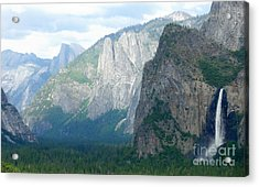 Yosemite Bridalveil Fall Acrylic Print