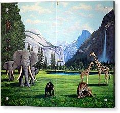 Yosemite Dreams Acrylic Print by Frank Wilson