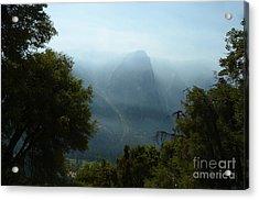 Yosemite Falls Hike Acrylic Print