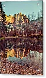 Yosemite Reflection Acrylic Print