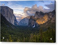 Yosemite Sunset Acrylic Print by Jim Neumann