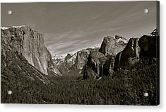 Acrylic Print featuring the photograph Yosemite Valley by Eric Tressler