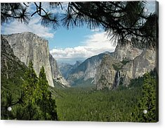 Acrylic Print featuring the photograph Yosemite's Tunnel View by Geraldine Alexander