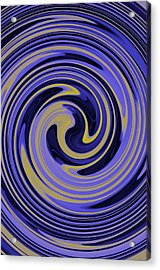 You Are Like A Hurricane Acrylic Print by Bill Cannon