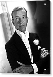 You Were Never Lovelier, Fred Astaire Acrylic Print by Everett