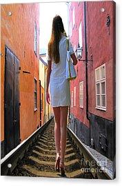 YOU Acrylic Print by Yury Bashkin
