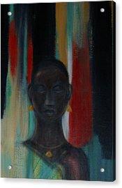 Young Woman Acrylic Print