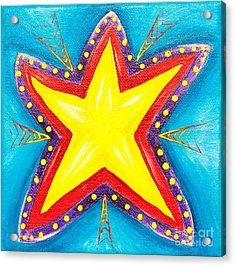 Your A Star Acrylic Print by Melle Varoy