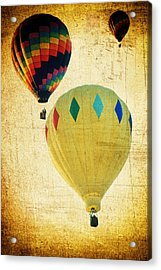 Acrylic Print featuring the photograph Your Balloon Ride by James Bethanis