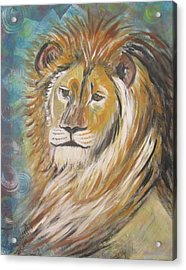 Your Majesty Acrylic Print by Julia Rita Theriault