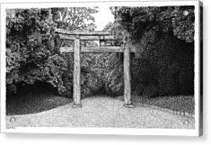 Yoyogi Park Gate Tokyo Acrylic Print