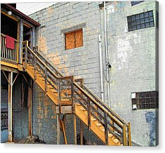 Acrylic Print featuring the photograph Ypsi Loft by MJ Olsen