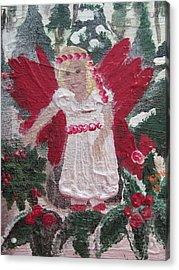Yule Fairy Acrylic Print