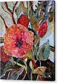 Yupo Floral Acrylic Print