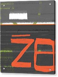 Z8 Acrylic Print by Naxart Studio