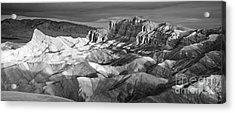Zabriskie Point Panorama Acrylic Print by Jim Chamberlain
