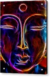 Acrylic Print featuring the photograph Zen Glow by Joetta West