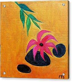 Zen Lounge Acrylic Print by Prachi  Shah