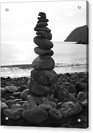 Acrylic Print featuring the photograph Zen Tower by Ramona Johnston