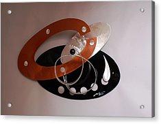 Zero Sum Acrylic Print by Mac Worthington