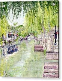 Zhou Zhuang Watertown Suchou China 2006 Acrylic Print
