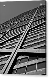 Zig-zagging To The Top Acrylic Print by Daniel Chen