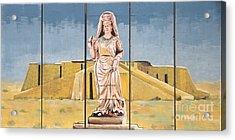 Ziggurat Acrylic Print by Unknown - Local National