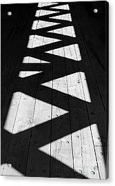 Zigzag  Acrylic Print