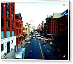 Zip New York Acrylic Print