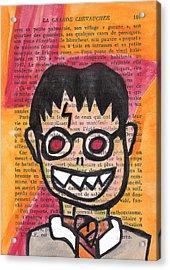 Zombie Harry Potter Acrylic Print by Jera Sky