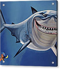 Finding Nemo Painting Acrylic Print
