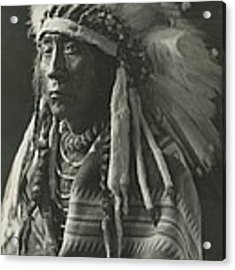 Chief Eagle Calf Acrylic Print by Retro Images Archive