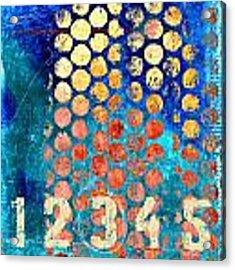 Counting Circles Acrylic Print