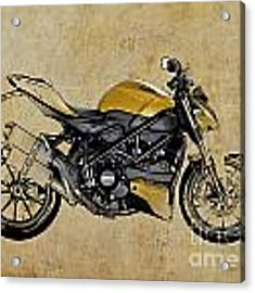 Ducati Streetfighter 848 2012 Acrylic Print