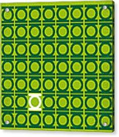 No120 My Green Lantern Minimal Movie Poster Acrylic Print by Chungkong Art