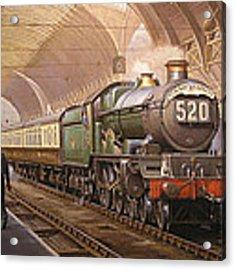 Paddington Arrival. Acrylic Print