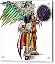 Pelusis God Of Law And Order Acrylic Print by Shawn Dall