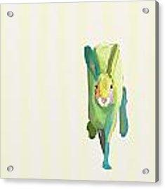 Running Bunny Acrylic Print